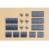 Accessoires miniatures : Antennes satellites et panneaux solaires - 1:87 H0 - Auhagen 41651