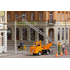 Véhicule miniature : Camion de pompiers avec échelle rotative Multicar M22 - 1:87 H0 - Auhagen 41656