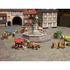 Figurines Chariot de glaces et hotdogs - Noch 16229