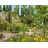 Végétation miniature : Feuillage couvre sol, vert moyen - Noch 07250