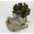 Décors de pierres avec arbre 15 cm - FR 28042