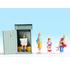 Figurines miniatures :  Scène toilettes - Noch 15560