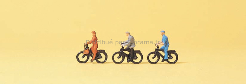 Preiser 80911 - Cyclistes miniatures 1:200