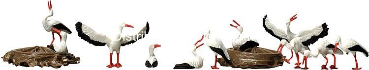 Animaux miniatures : FAL-154006 – Cigognes