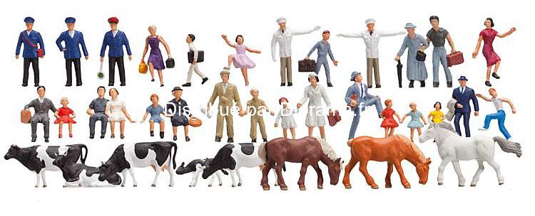 Set découverte de 36 figurines - 1:160 N - Faller 155253