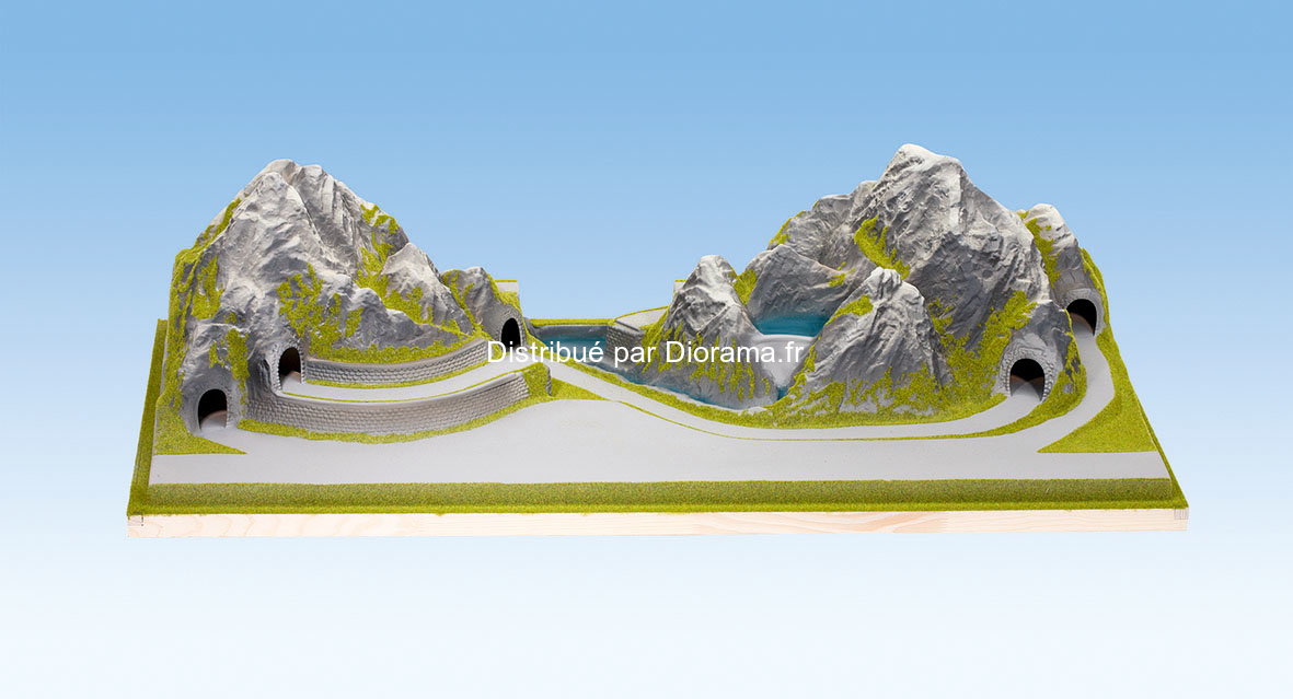 Noch 83860 - Plateau 'Bergün' Alpes Suisses 1:160, N