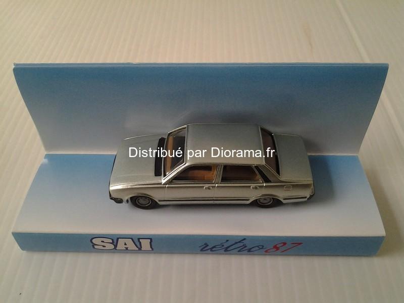 Voiture miniature : Peugeot 505 berline verte romarin métallisé - SAI- 03267