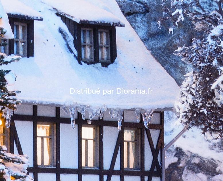 Décorations hivernales : Stalactites de glace - Noch 08756