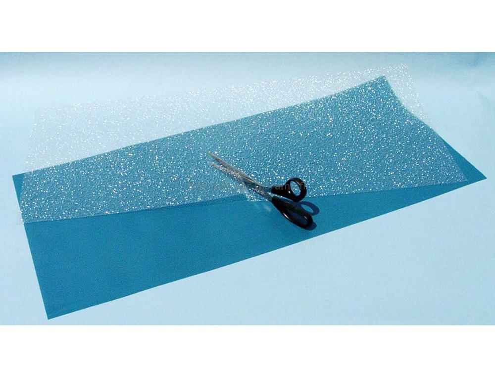 Grande feuille eau 35 x 80 cm