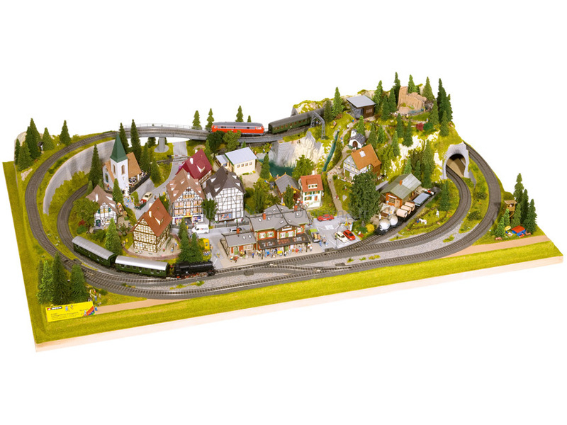 "Noch 81580 - Plateau ""Königsfeld"" HO/TT 160 x 100 cm"