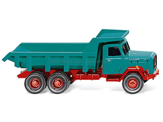 Camion benne Magirus Saturn - Wiking 670-01