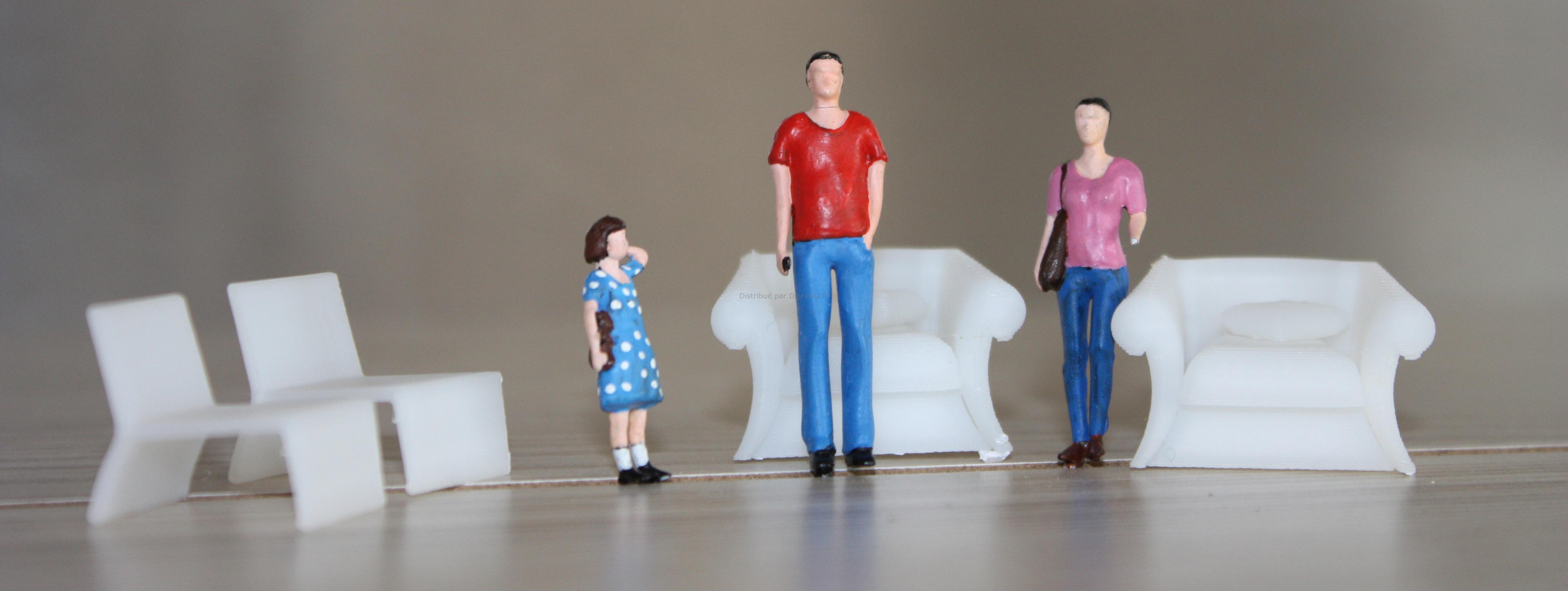 Fauteuil miniature 'moom'