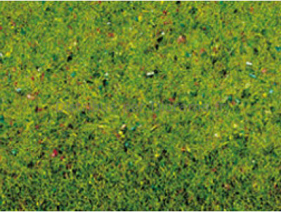 Végétation miniature : Tapis d'herbe fleuri  120 x 60 cm - Noch 270