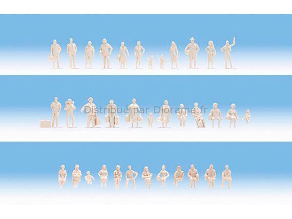 """Noch 44985 - Set de départ """"72 Figurines à peindre"""" 1:120"""