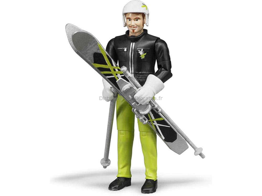 Skieur miniature 11 cm - Bruder 60400