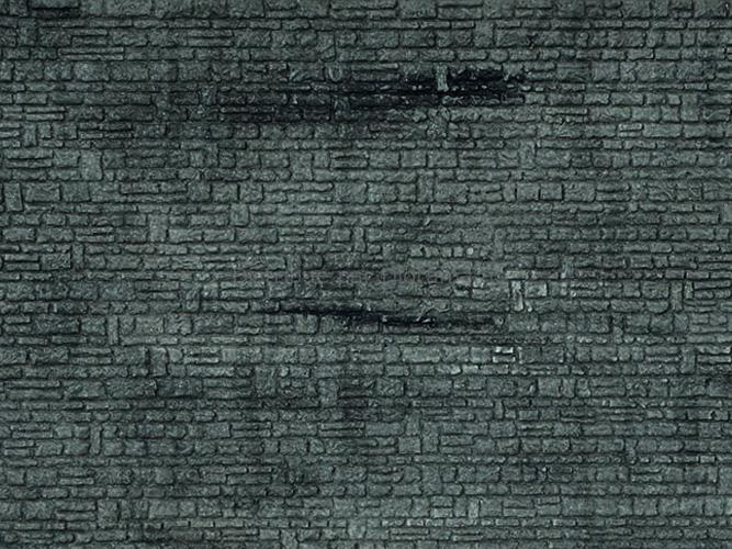 Mur pierre de taille - 1:43,5 - O