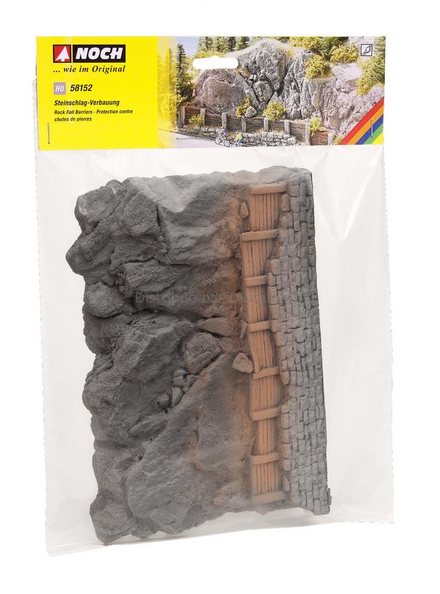 Protection contre chute de pierre - Noch 58152