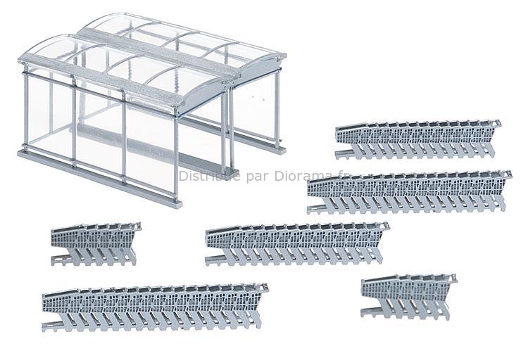Chariots de course au supermarché - 1:87 H0 - Faller 180606