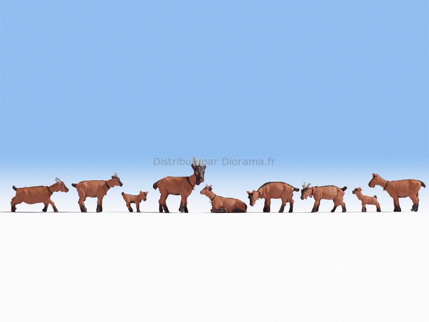 Chèvres miniatures 1:87, HO - Noch 15752