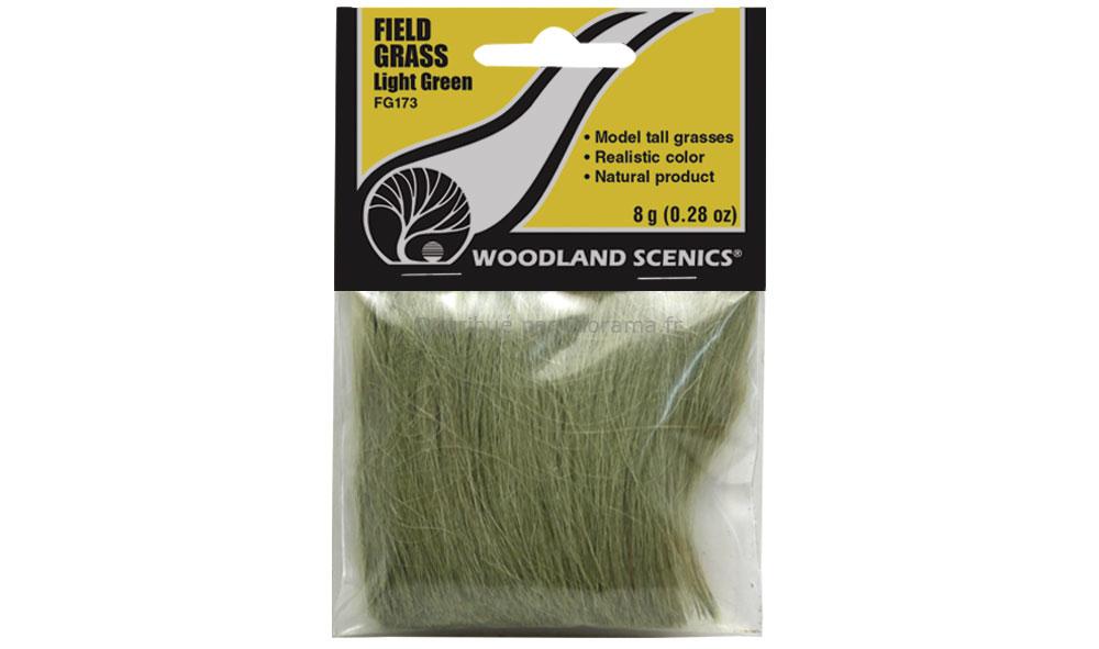 Champ d'herbes hautes vert clair - Woodland FG173
