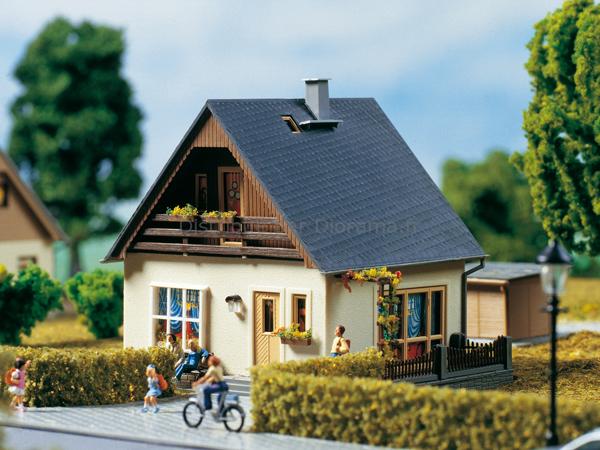 maison gabi 187 auhagen 11378 maquette de maison miniature construire