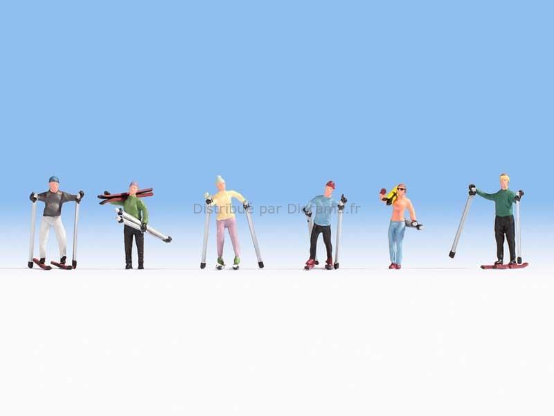Skieurs miniatures 1:87 - Noch 15827