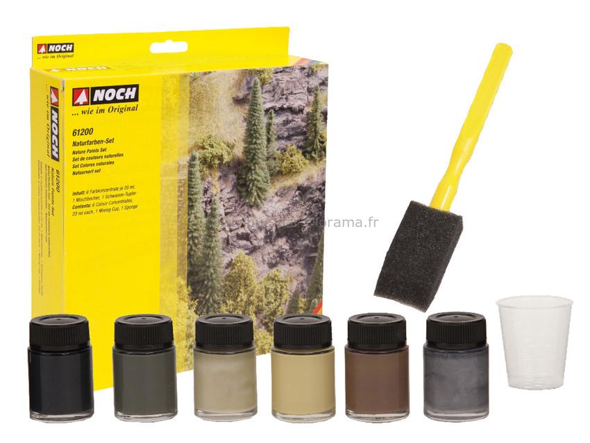 Set de couleurs naturelles - Noch 61200