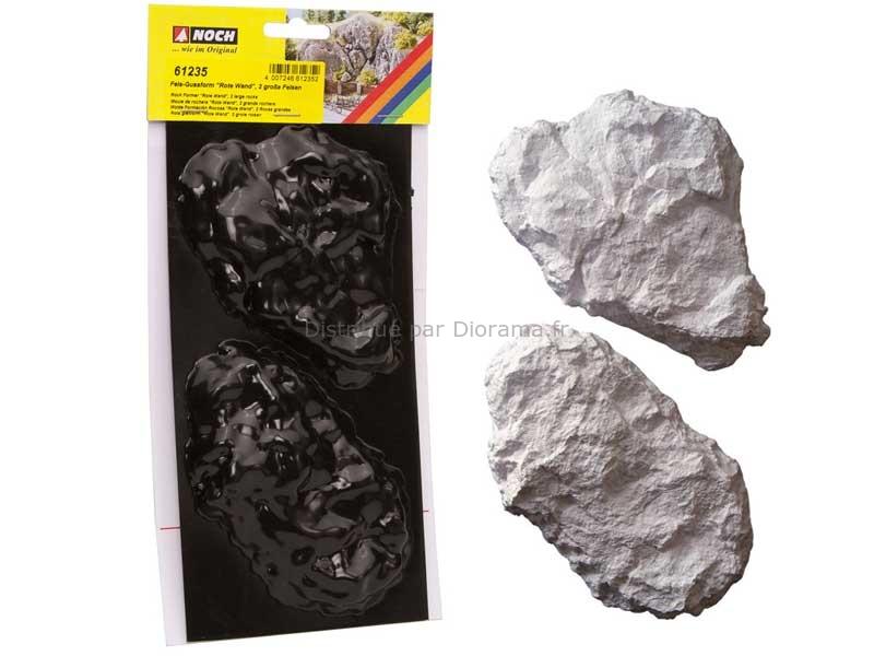 Moules pour rochers miniatures