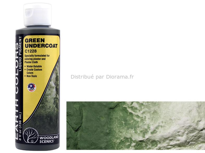 """""""Couleurs de la terre"""", verte, 236 ml - Woodland C1228"""