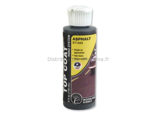 """Top Coat"", asphalte - Woodland ST1453"
