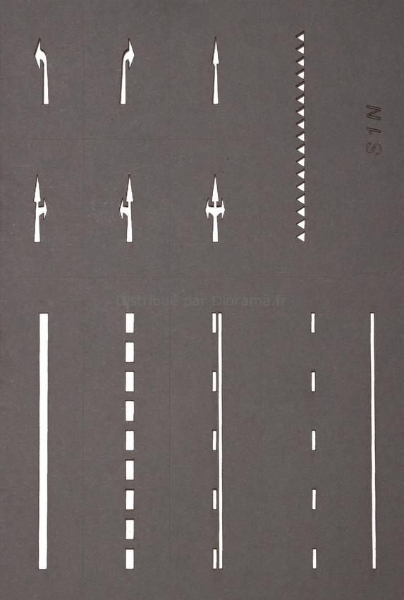 Set de départ marquage routier - Noch 60740