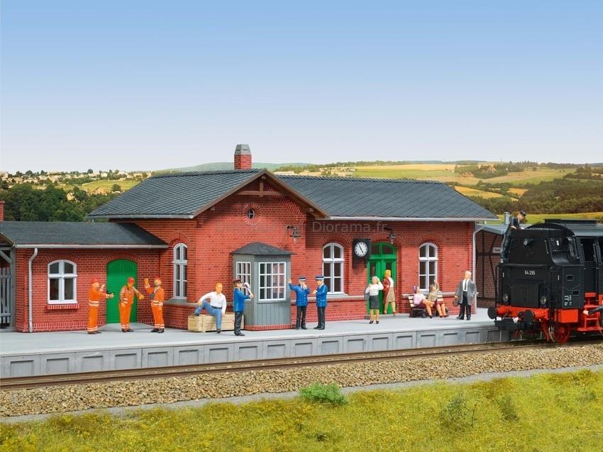 Figurines miniatures : Agents des chemins de fer - 0 - Noch 17800