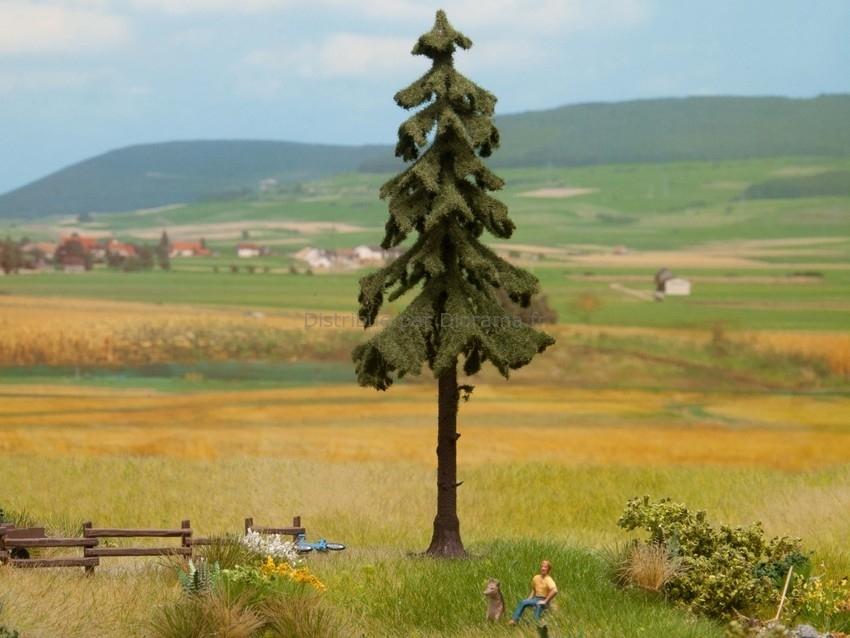 Végatation miniature : Sapin rouge à haute tige 14,5 cm - 1:87, 1:120, 1:160 - Noch 21924
