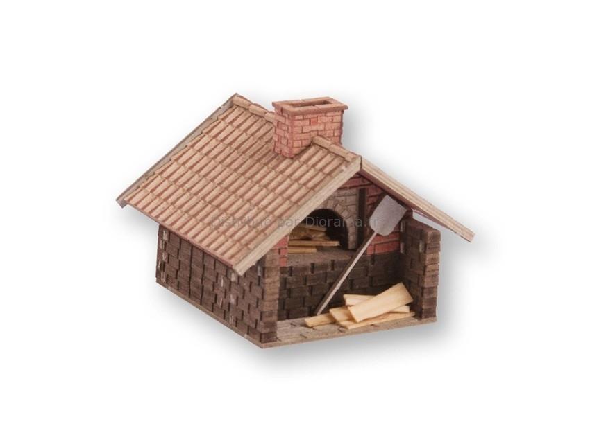 Bâtiment miniature : Fournil - 1:120 TT - Noch 14488