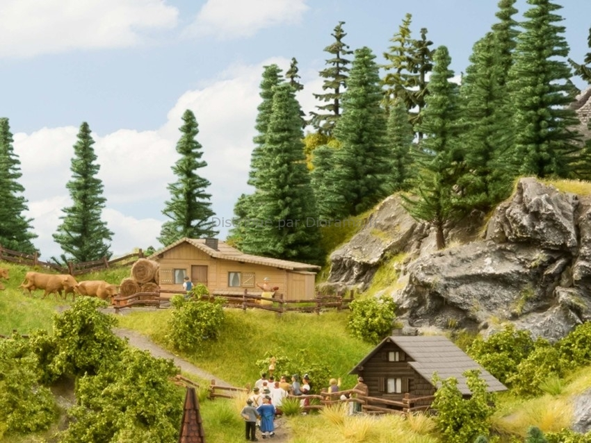 Bâtiment miniature : Refuge - 1:87 HO - Noch 14339