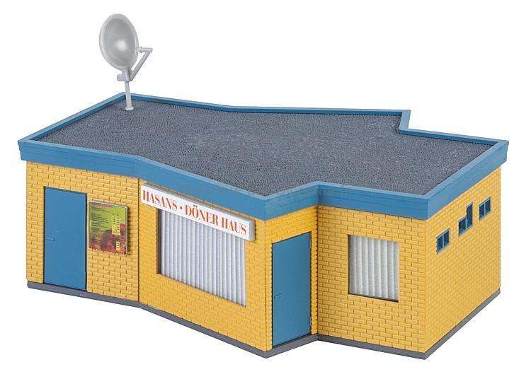 Bâtiment miniature : Kebab - 1:87 - Faller 130434