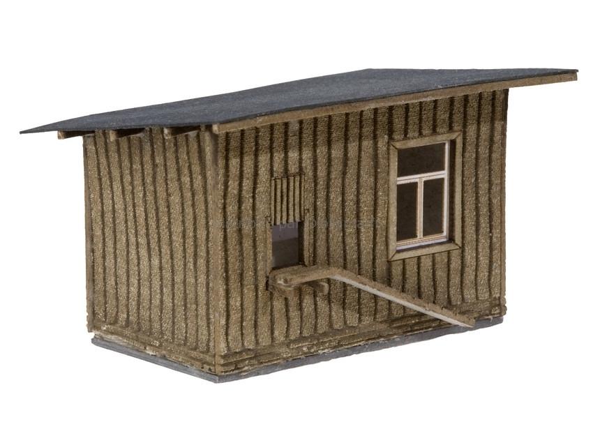 Décor miniature : Poulailler - 1:87 HO - Noch 14378