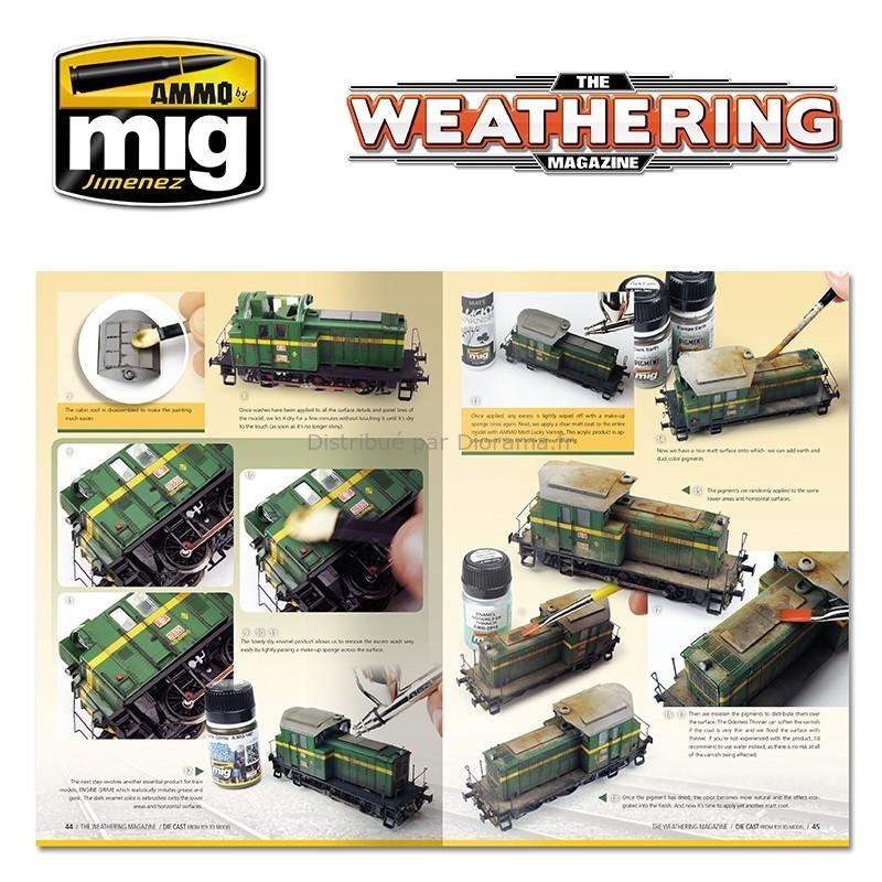 The Weathering Magazine -techniques de vieillissement des maquettes