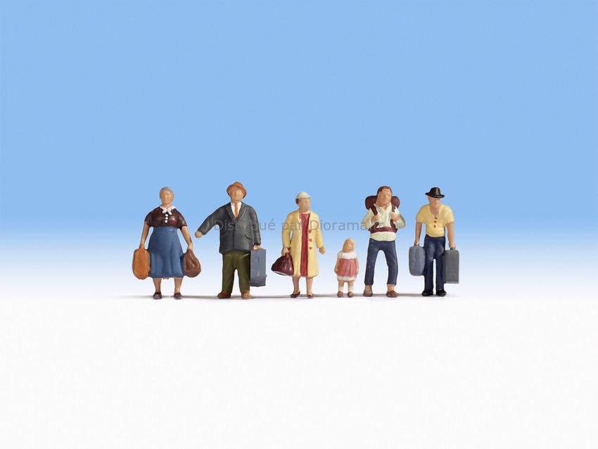 Figurines miniatures : Voyageurs 1:87 - Noch 15218