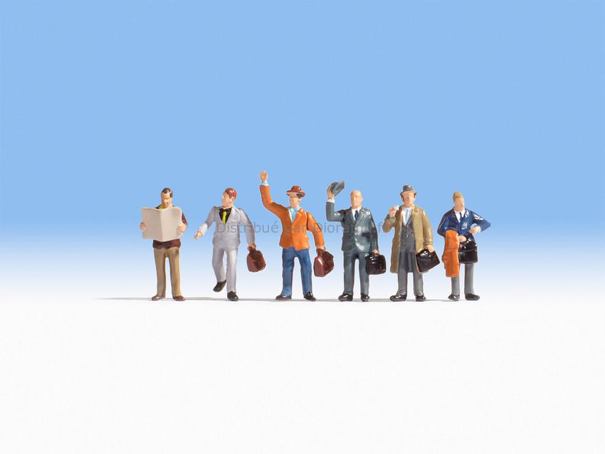 Figurines miniatures : Voyageurs d'affaires  1:87 - Noch 15226