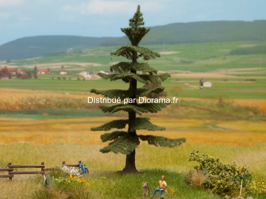 Sapin Nordmann miniature  12 cm 1:87, 1:120, 1:160- Noch 21819
