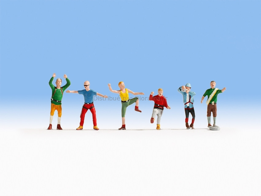 Figurines miniatures : Alpinistes 1:120 - Noch 45871