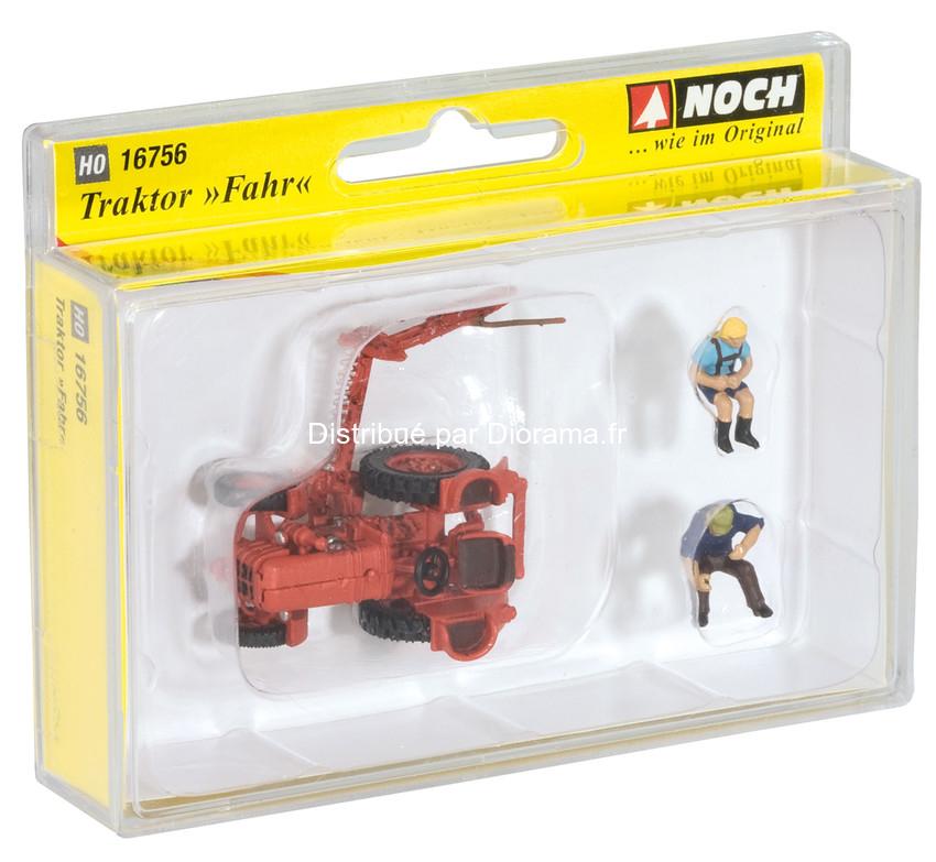 "Figurines miniatures : Tracteur ""Fahr"" 1:87 - Noch 16756"