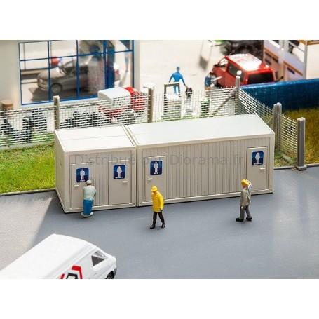 Sanitaires miniatures de chantier 1:87 - Faller 130131