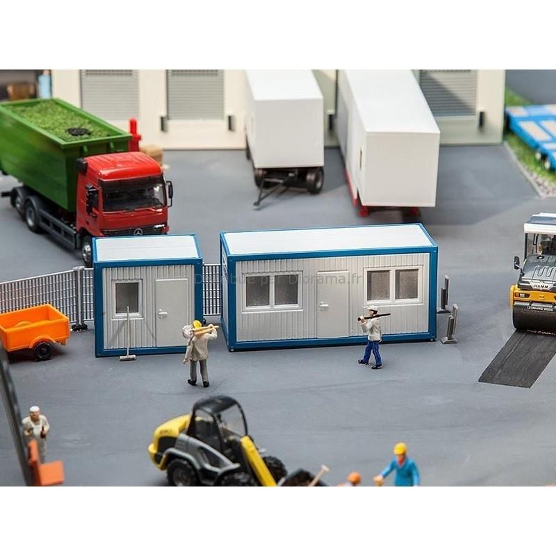 Bureaux miniatures de chantier 1:87 - Faller 130132