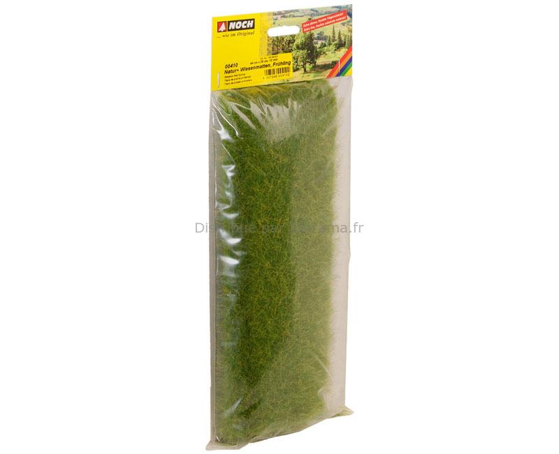 Végétation miniature : Tapis herbes sauvages XL Pré printemps, 12 mm - Noch 00410