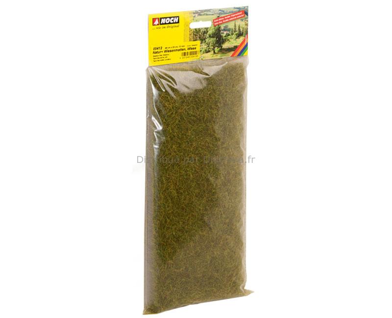 Végétation miniature : Tapis herbes sauvages XL Pré, 12 mm - Noch 00412