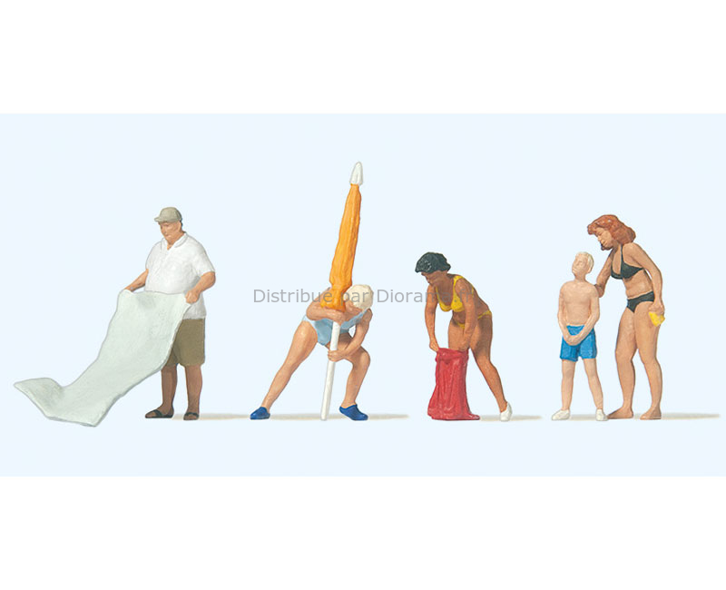 histoires de toilettes 15560 Figurines Noch H0