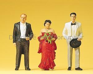 Parents des mariés 1:22,5, G - Preiser 45052