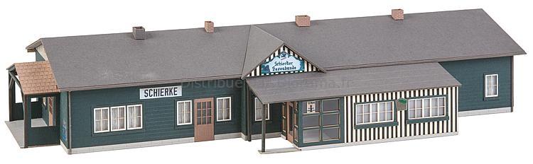 Bâtiment miniature : Station service - 1:87 H0 - Faller 110136